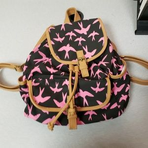 Bongo Junior's Drawstring Backpack Style Purse